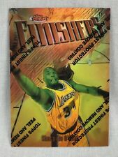 1997 Topps Finest Refractors #50 Shaquille O'Neal LAKERS
