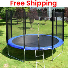12FT Round Trampoline Replacemet Safety Pad Tear-Resistant Edge Spring Round Pad