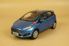 1/18 2013 new ford fiesta blue color