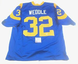 Eric Weddle signed jersey PSA/DNA Los Angeles Rams Autographed