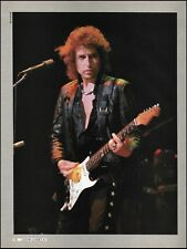 Bob Dylan 1986 Live onstage with Fender Stratocaster guitar 8 x 11 pinup photo