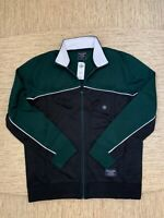 Men's Abercrombie A&F Athletic Full-Zip Track Jacket Large Green - New With Tags