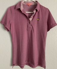 Women's Magnolia Lane Golf Masters Shirt sz  Medium GREAT CONDITION! Red/Pink