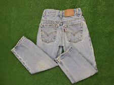 Vintage Size 6 Levi's Youth Kids Boys 550 Denim Jeans