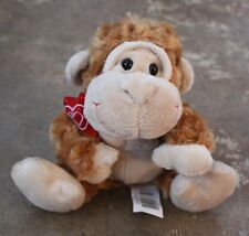 Kellly Toy Brown Gorilla with Heart (SA1-11)
