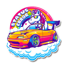 Status Error Eunicorn Sticker Kawaii / MX5 / Eunos / Miata / JDM Unicorn / Cute