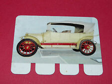 N°24 LEON BOLLEE 1912 PLAQUE METAL COOP 1964 AUTOMOBILE A TRAVERS AGES