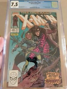 Uncanny X-Men #266 CGC 7.5 FIRST APPEARANCE OF GAMBIT! Freshly Graded!!