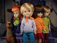 Living Dead Dolls ~ SCOOBY-DOO & THE MYSTERY INC. CREW DOLL SET ~ Mezco
