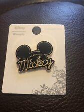 Loungefly Disney I'll Be Your Mickey (ears) Enamel Pin