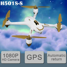 Hubsan H501S S 5.8G FPV Drone Brushless 1080P RC Quadcopter GPS RTH,BNF+Battery
