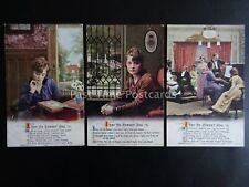 More details for i try to forget you - ww1 bamforth song cards set of 3 no 4961