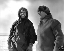 Rear Admiral Richard Byrd with Dr. Paul Siple at the Antarctic 1946