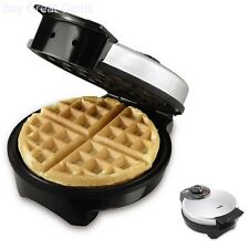 Waffle Maker Irons Belgian Style Kitchen Bakery Fluffy Stainless Steel 8 inch