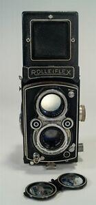 Vintage Rolleiflex Automat MX Model K4A TLR Twin Lens Reflex Camera 1951-54