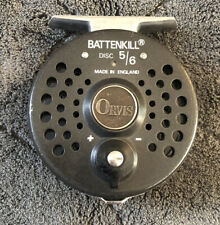 Orvis Battenkill 5/6 Disc Drag Made In Engalnd Fly Reel ***With Spare Spool***