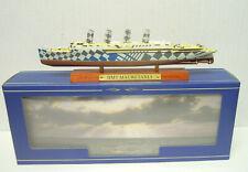 """Truppentransporter HMT """"Mauretania"""", Atlas, 1:1250, Fertigmodell, Neu"""