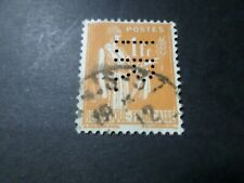 FRANCE 1932/33, timbre 286, PAIX, PERFORE', oblitéré VF used perfin STAMP