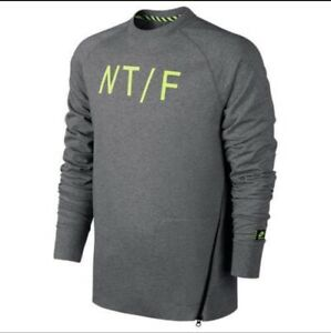 Men's NIKE Track & Field Crewneck Sweatshirt 687430-091 Medium M $80