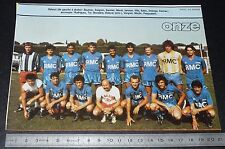 CLIPPING POSTER FOOTBALL 1985-1986 D2 AS BEZIERS