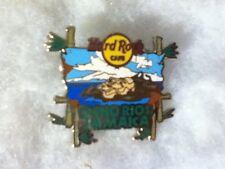 Hard Rock Cafe Ocho Rios Jamaica City Tee Logo Pin with Rasta Head 2007