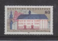 1986 WEST GERMANY MNH STAMP DEUTSCHE BUNDESPOST  HEIDELBERG UNIVERSITY  SG 2141