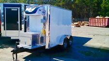 NEW 2017 REFRIGERATOR FREEZER COOLER MOBILE TRAILER FOR MEAT FLORIST PRODUCE