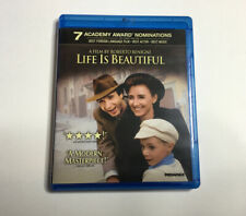 Life Is Beautiful (Blu-ray Disc, 2011) Rare Out Of Print Oop