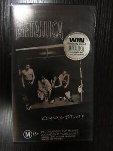 Metallica Cunning Stunts VHS