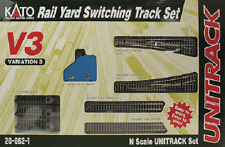 KATO # 208621 Unitrack V3 Set Rail Yard Switching Track Starter Set N MIB