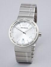 Auth PACO RABANNE stainless steel watch orologio acciaio inox uomo PRH994/FM NIB