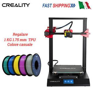 CREALITY CR-10S PRO STAMPANTE 3D 300*300*400MM + 1KG 1.75mm TPU Filamento NUOVA