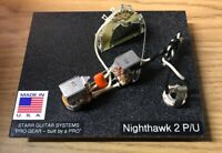 Gibson Nighthawk (2 pickup model) Wiring Harness Electronics Upgrade! NEW!