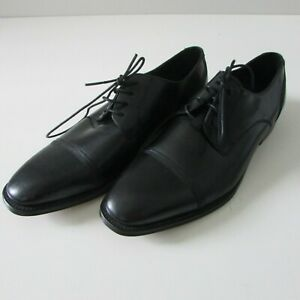 Kenneth Cole Black Formal Dress Shoes Mens Size 9 Lace Up RRP $231