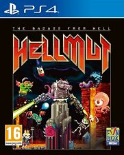 Hellmut el Badass del infierno PS4 Juego