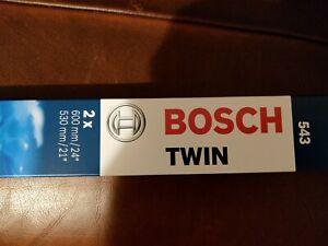 "Bosch  24""/21"" Front Windscreen Wiper Blades - 543"