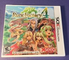 Rune Factory 4 (3DS) NEW