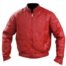 Hein Gericke Women's California I Leather Motorcycle Jacket Red size 34/XSmall