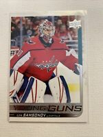 2018-19 Upper Deck Young Guns Ilya Samsonov Washington Capitals ROOKIE Card RC