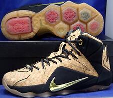 Nike Lebron XII 12 EXT Cork SZ 9 ( 768829-100 )
