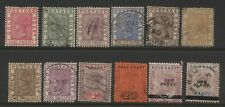 Gold Coast Collection 12 QV Stamps Mostly Used