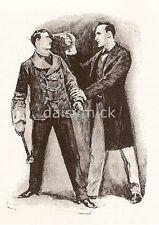 Sherlock Holmes AVVENTURE Strand MAGAZINE 1892, 7x5 pollici RISTAMPA