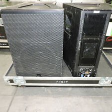 Meyer Sound UPQ-1P self powered speaker cabinets 2 units for sale in case