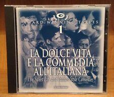 La Dolce Vita: The Sweet Life and Italian Style Comedies CD (Rota, Nascimbene)