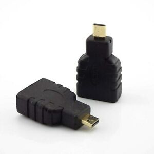 1/2/5Pcs Micro HDMI-compatible Male to Female Connector Converter Adapter HDTV