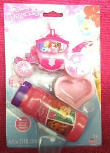 Disney Princess Dip And Blow Bubbles Carriage Blows Bubbles New In Package