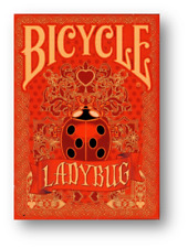 Limited Edition Bicycle Ladybug (Red) Playing Cards Poker Cardistry