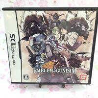 USED Nintendo DS Emblem of Gundam 91865 JAPAN IMPORT
