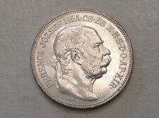 - 1913 Hungary Two 2 Korona Franz Joseph Choice Mint State uncirculated