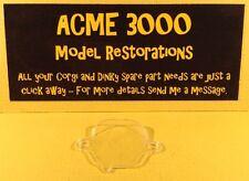 DINKY 210 ALFA ROMEO 33 RIPRODUZIONE REPRO-Plastica Trasparente Coperchio del motore